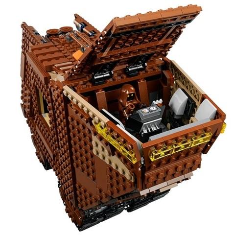 LEGO Star Wars: Песчаный краулер 75220 — Sandcrawler — Лего Звездные войны Стар Ворз