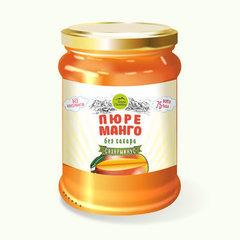 Пюре манго без сахара, 250 г