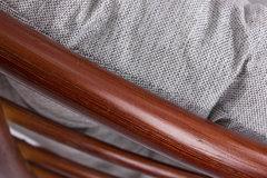 Кресло-качалка Papasun Swivel ROCKER с подушкой, MI-004 К