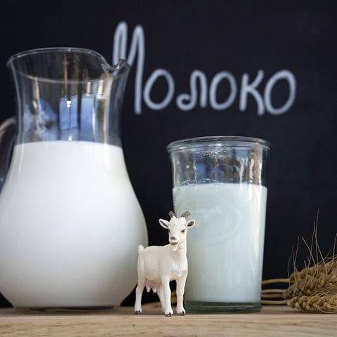 Фотография Козье молоко цельное 0,5 л купить в магазине Афлора