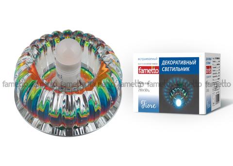 DLS-F115 G9 CHROME/COLOUR Светильник декоративный встраиваемый ТМ