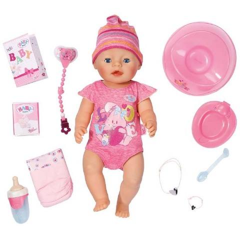 Беби Бон в розовом комбинезоне