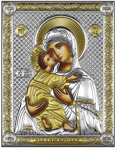 Владимирская Икона Божией Матери (18х14см)