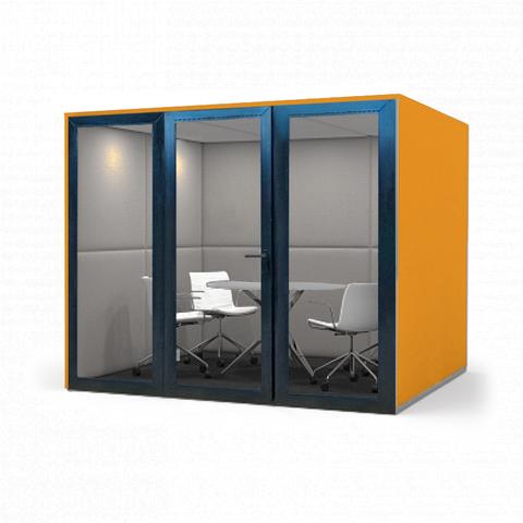 Офисная переговорная кабина  25Дб PREMIUM, размеры  200х200х210