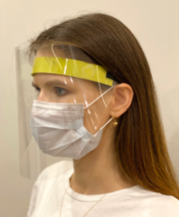 Защитный полимерный щиток Face Shield Protection производства компании «Олл Дент»