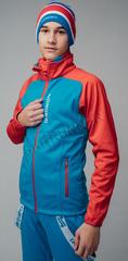 Детская Утеплённая лыжная куртка Nordski Jr. Premium Blue-Red 2020