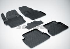 Резиновые коврики для MAZDA 3 (2009-2013),  высокий борт