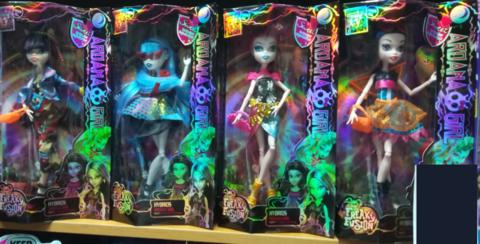 4 куклы