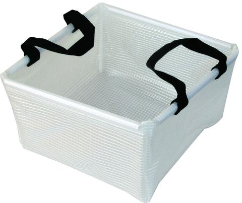 Таз складной квадратный 10л AceCamp Transparent Folding Basin