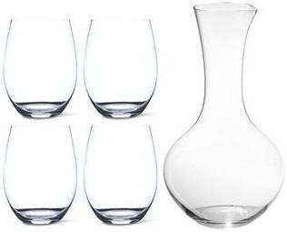 цена Набор из 4 бокалов и 1 декантера Cabernet & Decanter