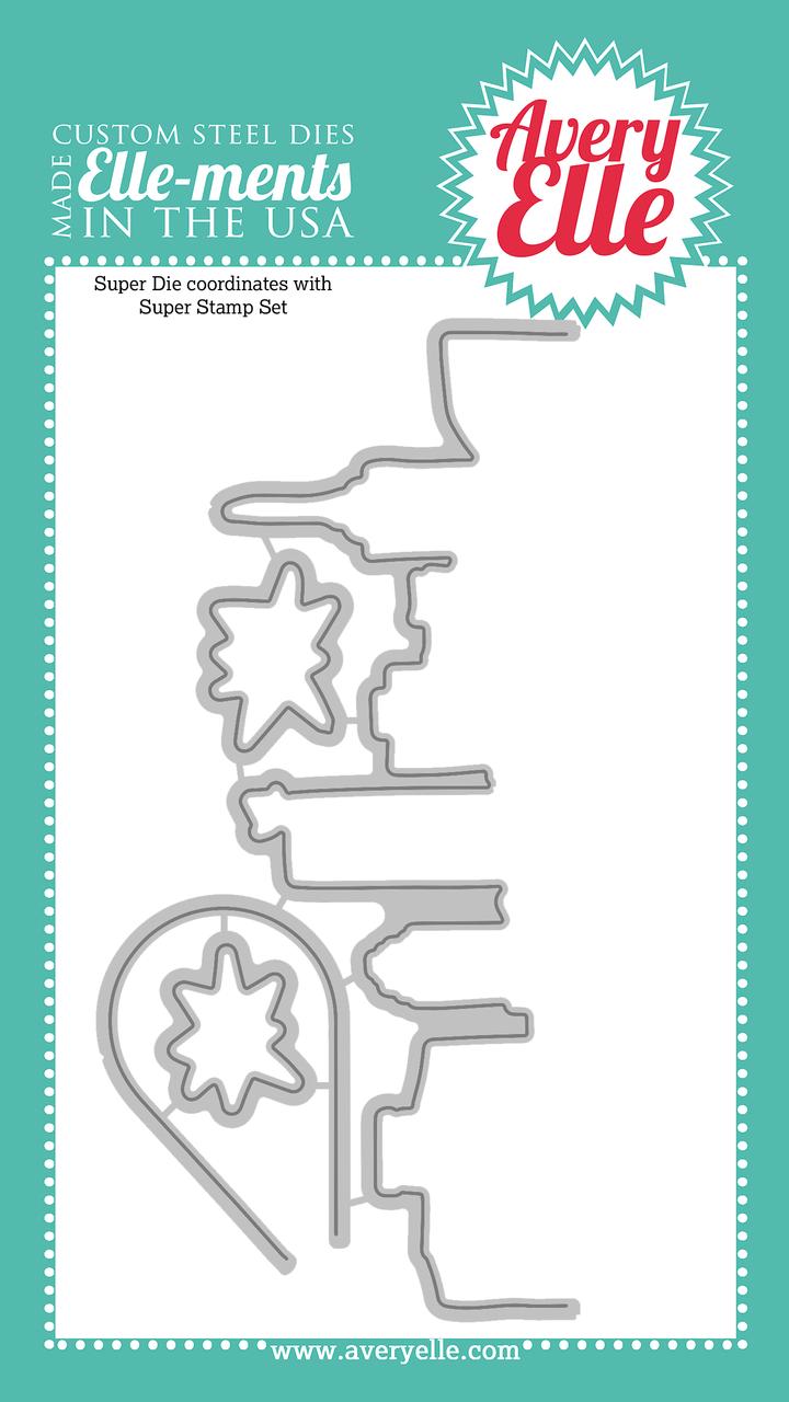 Комплект силиконовых штампов + НОЖИ