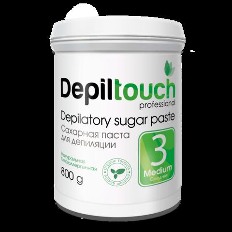 Сахарная паста для депиляции Depiltouch prof средняя 800 г.