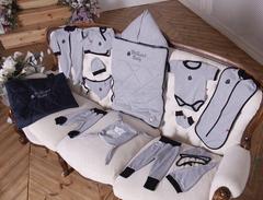 Набор для новорожденного Baby Box 14 предметов (серый)