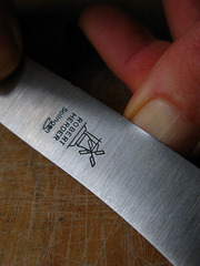 Нож для завтрака Buckelsklinge 118 мм (вишня) Robert Herder Solingen