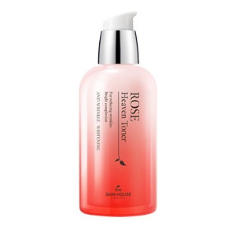 Тонер для лица с экстрактом розы, 130ml, THE SKIN HOUSE