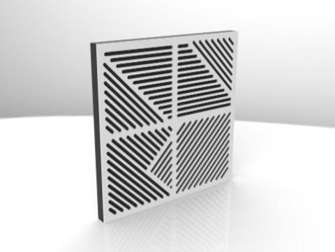 Акустический поролон панель ECHONON Studio-9 200-1600 Hz