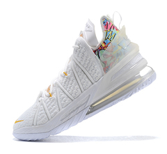 Nike LeBron 18 'White/Gold'