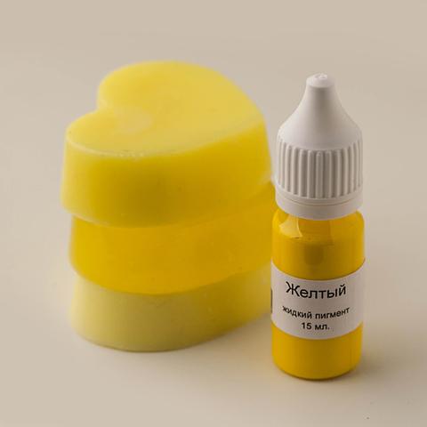 Жидкий пигмент для мыла Желтый