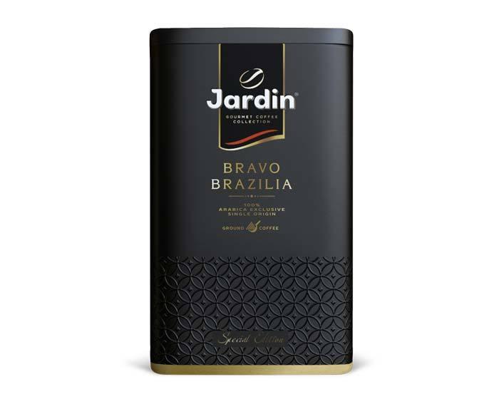Кофе молотый Jardin Bravo Brazilia, 250 г ж/б