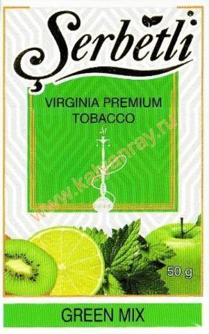 Serbetli Green Mix