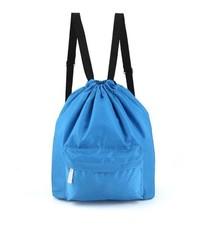 Пляжная сумка-рюкзак с отделением для мокрых вещей, 30х40 см