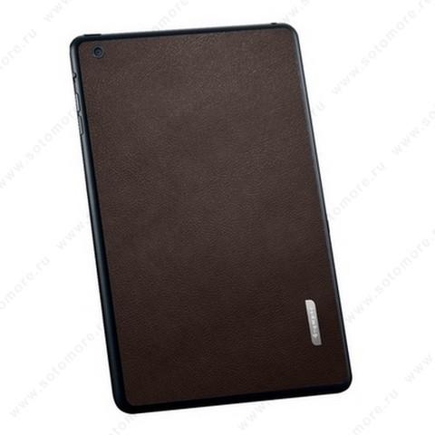 Наклейка SGP для iPad mini 3/ 2/ 1 - SGP Skin Guard Leather Brown SGP10069