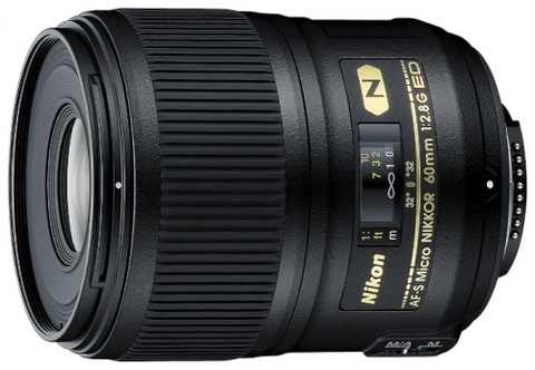 Nikon 60mm f/2.8G ED AF-S Micro-Nikkor (China)