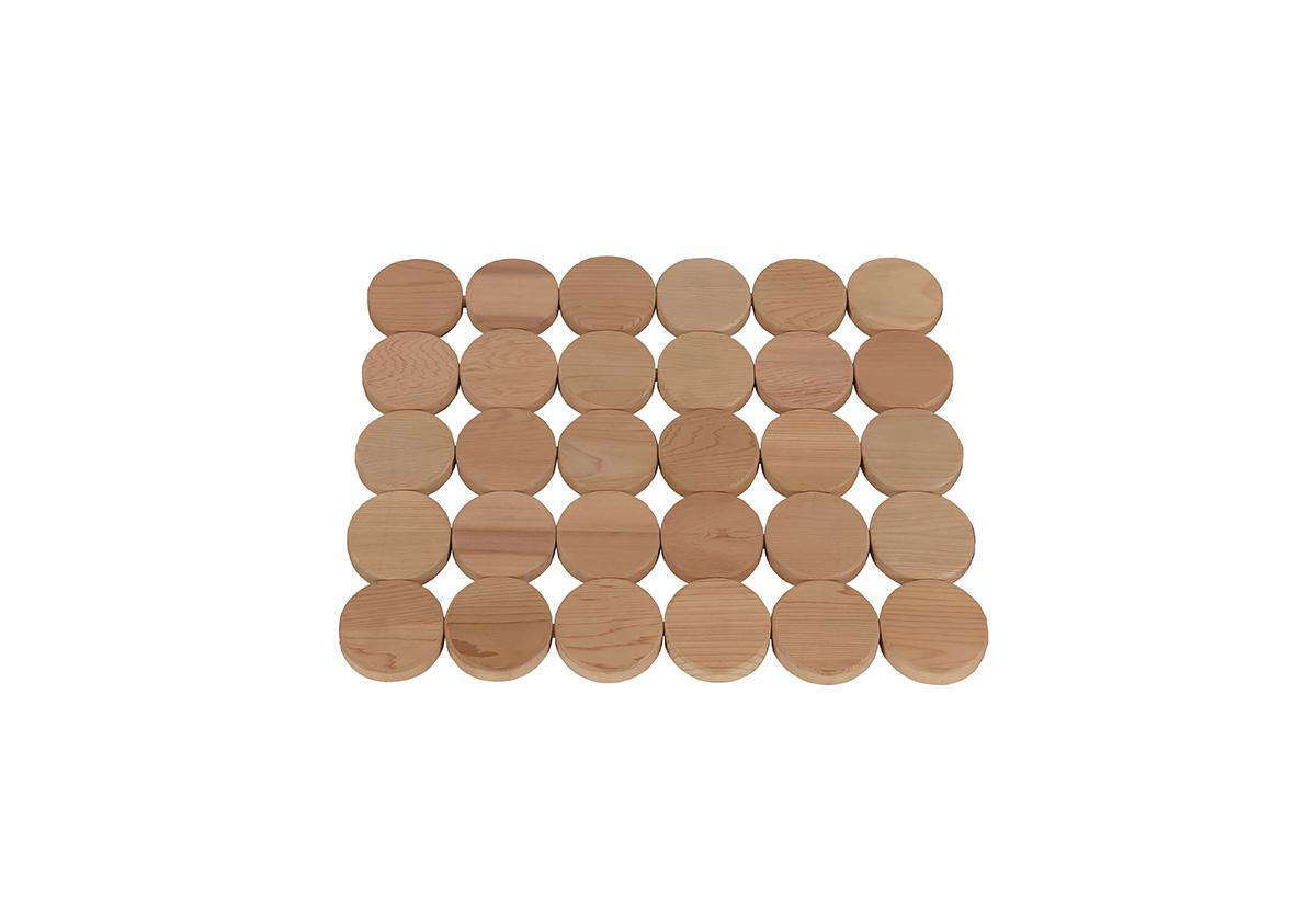 Фото - Ограждения и коврики: Коврик деревянный на пол SAWO 590-D ограждения и коврики коврик деревянный на пол sawo 595 d cnr угловой