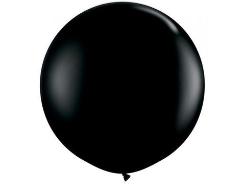Большой шар черный