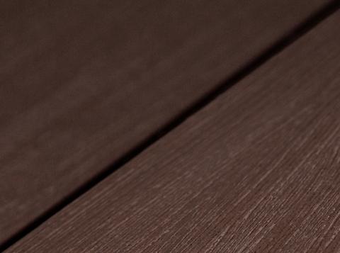 Террасная доска SW Salix (S) - радиальный распил. Цвет терракот.