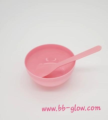 Набор для приготовления масок (цвет розовый)