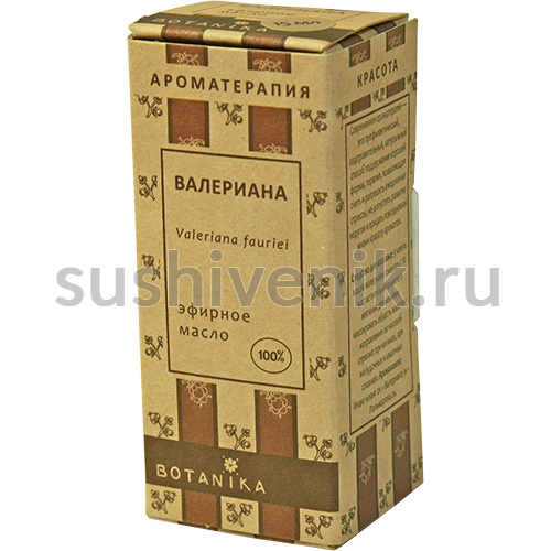 100%  эфирное масло валерианы (Valeriana fauriei)