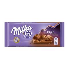 Шоколад Милка Triple Cacao
