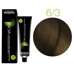 L'Oreal Professionnel INOA 6.3 (Темный блондин золотистый) - Краска для волос