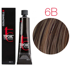 Goldwell Topchic 6B (коричневый золотистый) - Cтойкая крем краска