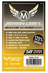 Протекторы для настольных игр Mayday Premium Mini USA (41x63) - 50 штук