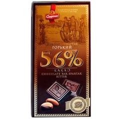 "Шоколад горький 56% ""Спартак"" 90г"