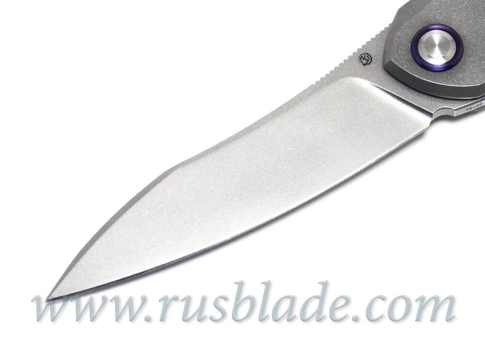Cheburkov Russkiy M390 folding knife Best Russian Knives