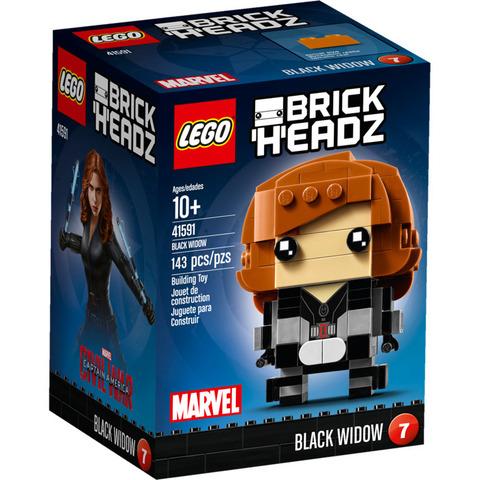 LEGO BrickHeadz: Чёрная вдова 41591 — Black Widow — Лего БрикХедз