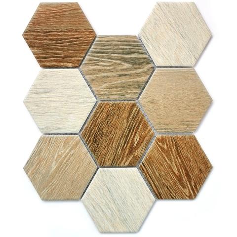 Мозаика керамическая Wood comb 295х256