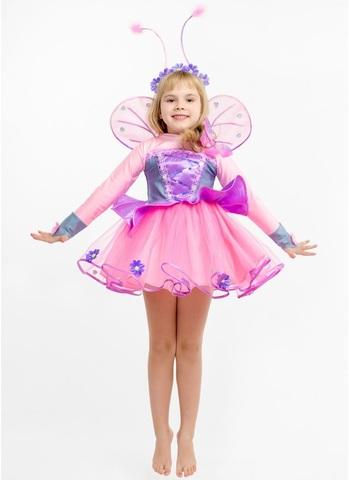 Костюм Бабочка Розовая 2