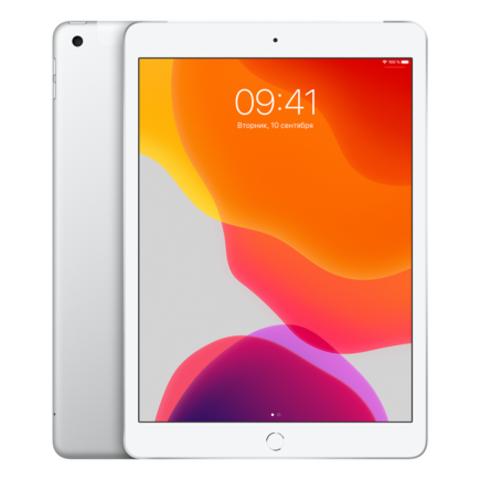 Apple iPad 2019 128GB Wi-Fi + Cellular Silver