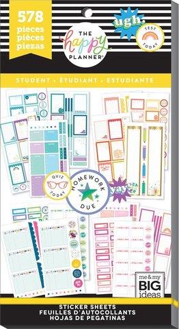 Блокнот со стикерами -Value Pack Stickers - Student - Functional- 578 шт