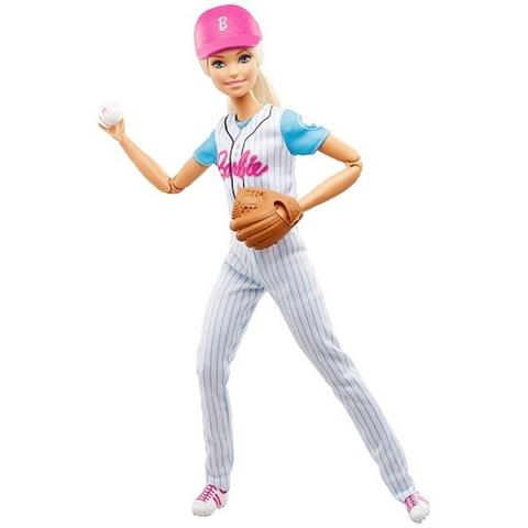 Барби Бейсболистка. Безграничные движения