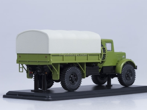 MAZ-502 4x4 board with awning green Start Scale Models (SSM) 1:43