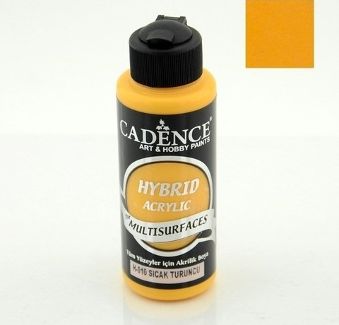 №11 Hybrid Acrylic, Светлый оранжевый, 70мл., Cadence