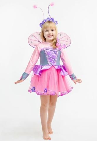 Костюм Бабочка Розовая 3