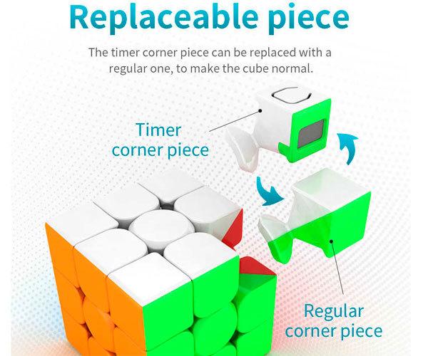 Головоломка Meilong 3x3x3 Timer Cube