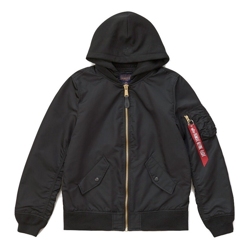 Куртка Alpha Industries L-2B Natus W Black (черная)