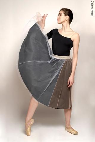 Basic rehearsal tulle skirt